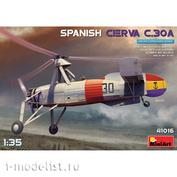 41016 MiniArt 1/35 Разведывательный автожир C.30A