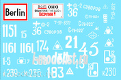35002 ColibriDecals 1/35 Decal for Battle for Berlin 45 - whinte band