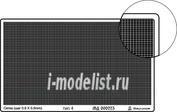000223 Микродизайн Сетка тип 4 (прямая, 0,8*0,5 мм)