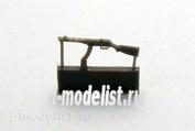 ZA35208 Zebrano 1/35 submachine Gun PPSH-41 (late version), 6 pieces