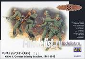 3522 MasterBox 1/35 Восточный фронт №1. Немецкая пехота в действии 1941-42