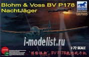 GB7005 Bronco 1/72 Blohm & Voss BV P178 NachtJager
