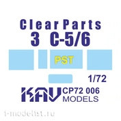 CP72 006 KAV Models 1/72 Остекление для З&C-5/6 (PST)