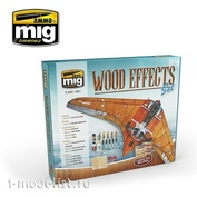 AMIG7801 Ammo Mig Set for creating a tree effect