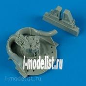 QB48 432 QuickBoost 1/48 add-on Kit F8F Bearcat wheel well details
