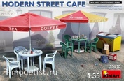 35610 MiniArt 1/35 Современное Уличное Кафе