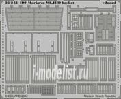 36243 Eduard 1/35 Фототравление для IDF Merkava Mk.IIID basket