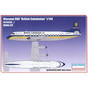 144139-7 Orient Express 1/144 Viscount 800 British Caledonian Aircraft