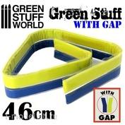 9862 Green Stuff World Шпаклёвка в виде ленты 46 см с разделением / Green Stuff Tape 18 inches WITH GAP