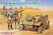 6364 Dragon 1/35 Kubelwagen w/ officers