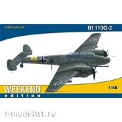 84140 Eduard 1/48 Самолет  Bf 110G-2