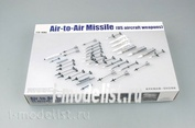 03303 Я-моделист клей жидкий плюс подарок Trumpeter 1/32 US aircraft weapon air-to-air missile
