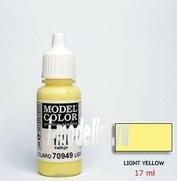 70949 Краска акриловая `Model Color Желто светлый/Light yellow
