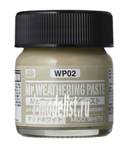 WP02 Gunze Sangyo Текстура MR.WEATHERING Paste - Mud White