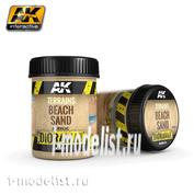 AK8019 AK Interactive Terrains Beach Sand 250ml (Пляж)