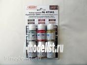 47341 akan a Set of acrylic paints