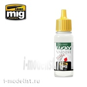 AMIG2057 Ammo Mig GLOSSY LUCKY VARNISH, 17 ml. (Acrylic professional lacquer)