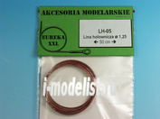 LH-05 EurekaXXL 1.25mm Metal wire rope for Afv Kits