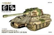 UA72168  Modelcollect  1/72 German WWII E-75 Heavy Tank with 128 Gun