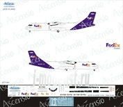 AT7-001 Ascensio 1/144 ATR-72-200 (FedEx)