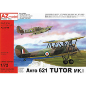 AZ7549 AZ Model 1/72 Avro 621 Tutor Mk.I