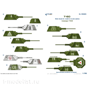 35065 ColibriDecals 1/35 Декали для Т-60 Часть 1