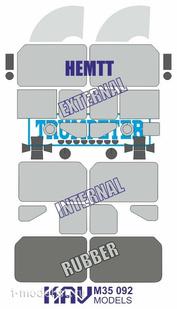M35 092 KAV Models 1/35 Окрасочная маска на HEMTT (Trumpeter)