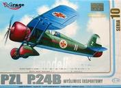 481004 Mirage Hobby 1/48 PZL P-24B 'JASTREB' WWII Polish AF fighter