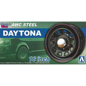 05428 Aoshima 1/24 Felgi AWC Steel Daytona 16 inch