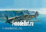 207209 Моделист 1/72 Немецкий истребитель Мессершмитт Bf-109E