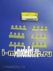 Z72030 Zebrano 1/72 Набор опорных катков КВ (поздний вариант)
