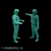 im35027 Imodelist 1/35 Экипаж для Тор-М2, №2 (2 фигуры)