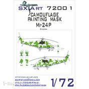 72001 SX-Art 1/72 Камуфляжная маска для вертолёта