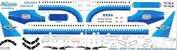 320-016 Ascensio 1/144 Декаль для airbu A320 (Кокгалымские Авиалинии (Коллавиа))