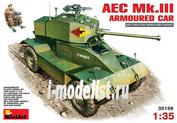 35159 MiniArt 1/35 Британский бронеавтомобиль AEC Mk.III