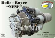 RVD72020 R.V. AIRCRAFT 1/72 Rols Royce