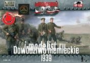 FTF018 First to Fight 1/72 Немецкие офицеры 1939 г.