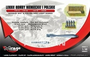 248001 Mirage Hobby 1/48 GERMAN WW1 & POLISH WW2 LIGHT AIRCRAFT BOMBS 1914 - 1918 & 1918 - 1920