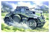48191 ICM 1/48 Sd.Kfs.222, германский легкий бронеавтомобиль