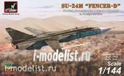 14703 Armory 1/144 Самолет разработки ОКБ им. Сухого тип 24М экспортный вариант