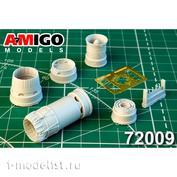 AMG72009 Amigo Models 1/72 MiGG-23ML, MiGG-23MLD Jet Nozzle engine R-35