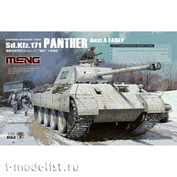 TS-046 Meng 1/35 Tank Sd.Kfz. 171 Panther Ausf. A (Early)