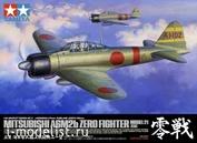 60317 Tamiya 1/32 Японский палубный истребитель A6M2b Zero Model 21 (Zeke)