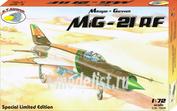RVA72039 R.V. AIRCRAFT 1/72 MiG-21RF
