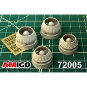 AMG72005 Amigo Models 1/72 Реактивное сопло двигателя РД-7М