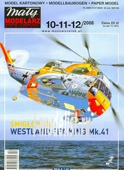 MM2008/101112 Maly Modelarz 1/33 Sea King