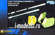 L3523T Lion Roar 1/35 Конверсионный набор для Rheinmetall 12.8cm K44 L/55