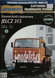 A3 Answer 1/25 JELCZ 315