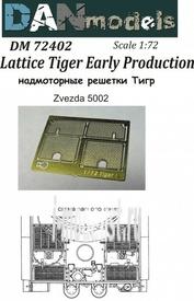 DM72402 DANmodel 1/72 Надмоторные решетки Тигр Early Production (для Звезда 5002)