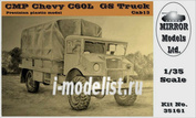 35161 Mirror-Models 1/35  CMP Chevy C60L GS Truck Cab 13